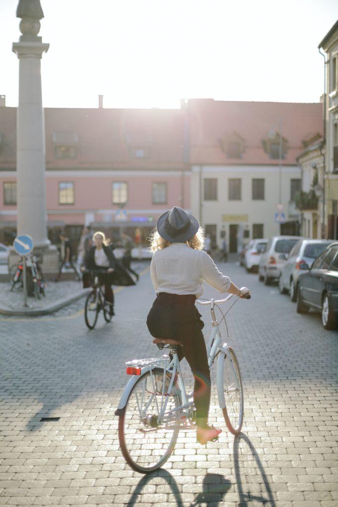 ruta en bici por Madrid