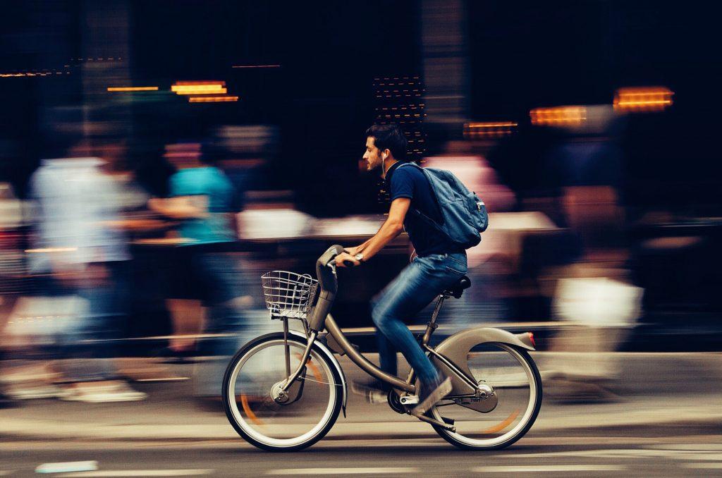 centro de madrid en bicicleta