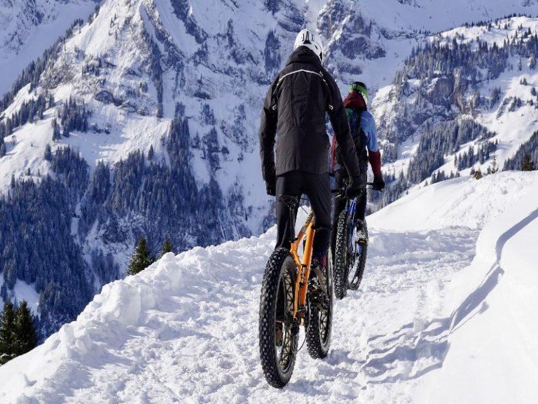 bicicletas de montaña aptas para ir por nieve